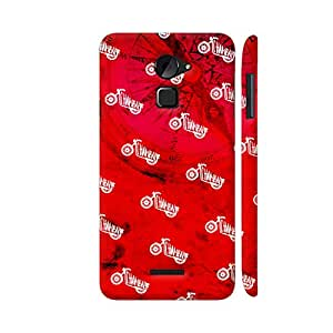 Colorpur The Chambal Bike On Red 2 Printed Back Case Cover for Coolpad Note 3 Lite