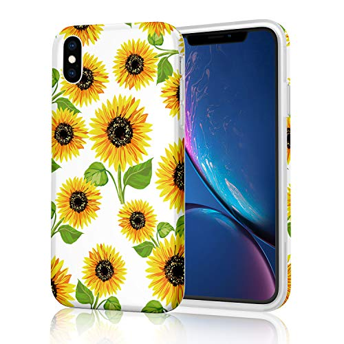 Schutzhülle für Apple iPhone X (2017) / iPhone XS (2018), Yellow Sunflowers -
