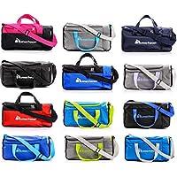 4e6fcfef03 sports bag gym bag holdall men women duffel shoulder fitness bag swimming  pool bag travel holiday
