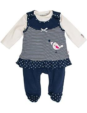 SALT AND PEPPER Baby-Mädchen Strampler Nb Playsuit Happy Minikleid