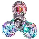 VVXXMONouveauté Plusieurs changements LED Fidget Spinner Main Lumineuse Spinners Top Brillent dans l'obscurité EDC Stress Relief Toys