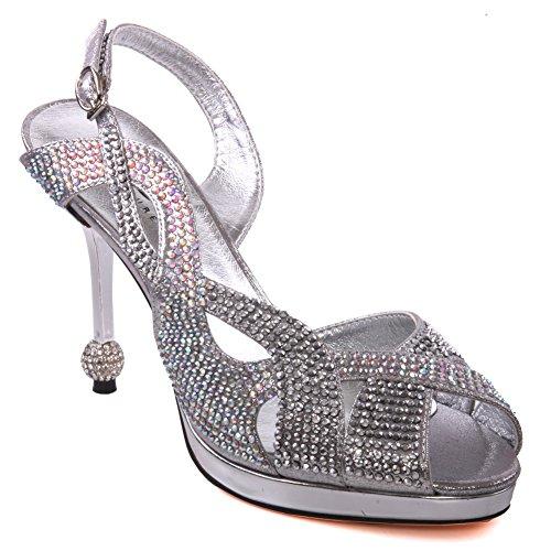 Unze Femmes de Neida ' Sandales Diamante Party Argent