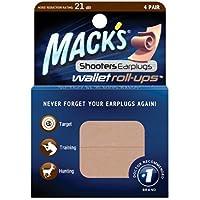 Mack's Shooter's Earplugs Wallet Roll-ups, 4 Pair by Mack's preisvergleich bei billige-tabletten.eu