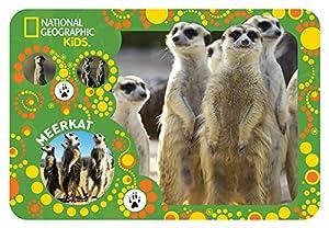 National Geographic NG40117 Meerkats - Mantel Individual Infantil