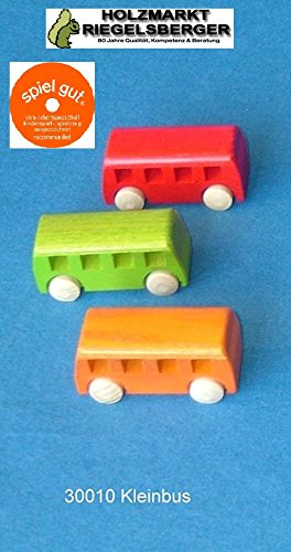 beck-8-cm-small-bus-toy-multi-colour