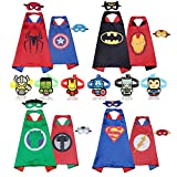 Best Costumes pour toutes les occasions Capes - RioRand Comics Cartoon Heroes dress up costumes Review
