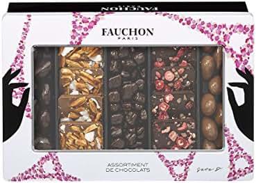 Fauchon - Assortiment 5 grignotages chocolatés Sara Da Costa