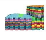 Stylehome® 36 Stücken Schadstofffrei Bodenmatte Puzzlematte Spielteppich Kinderteppich Spielmatte Lernteppich 86 tlg. -