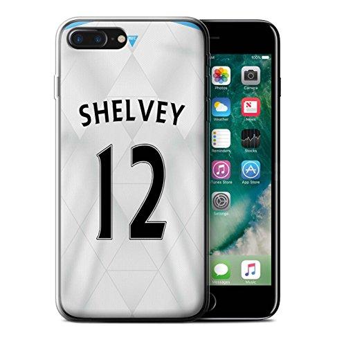 Offiziell Newcastle United FC Hülle / Gel TPU Case für Apple iPhone 7 Plus / Pack 29pcs Muster / NUFC Trikot Away 15/16 Kollektion Shelvey