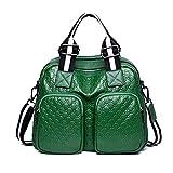 GSYDXKB Umhängetasche Geprägte Ledertasche Weibliche Herbst und Winter Neue Leder Portable Handtaschen Schulter Diagonal Paket
