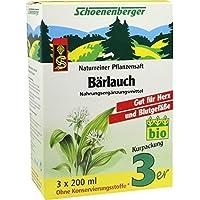 BÄRLAUCH SAFT Schoenenberger Heilpflanzens& 3X200 ml preisvergleich bei billige-tabletten.eu