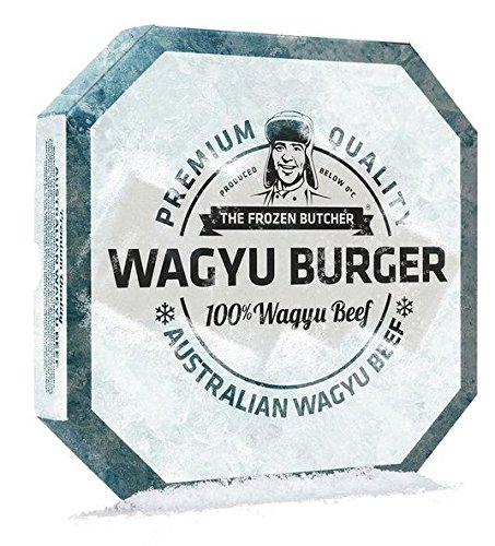 The Frozen Butcher - Wagyu Beef Burger TK - 2x125g/250g