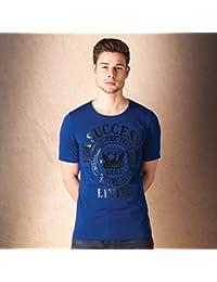 T-shirt Diesel T-Webmarwa pour homme en bleu