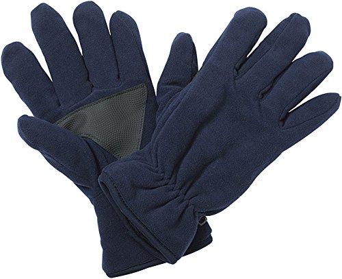 Gants polaires avec doublure intérieure Thinsulate™ Fleece Gloves en plusieurs couleurs Tailles S/M-L/XL Navy