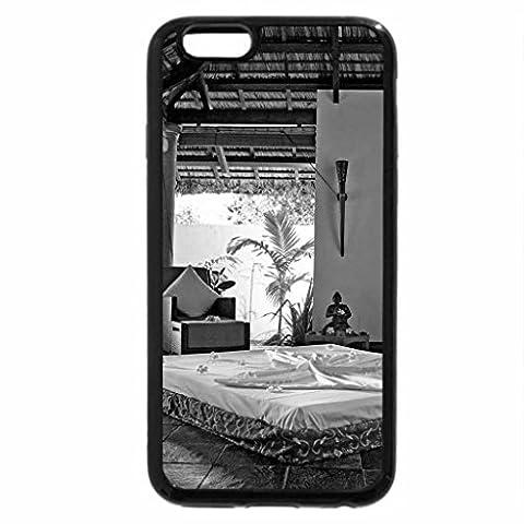 iPhone 6S Plus Case, iPhone 6 Plus Case (Black & White) - Zen Paradise - Spa Yoga Retreat