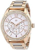 Reloj Tommy Hilfiger 1781266 de cuarzo para mujer con correa de acero inoxidable, color rosa de Tommy Hilfiger