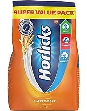 Horlicks Health and Nutrition drink - 750 g Refill Pack (Classic Malt)