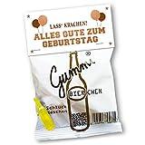Vaterbier Gummibierchen Geburtstag Edition (1x150g), lustiges Biergeschenk, Geburtstagsgeschenk