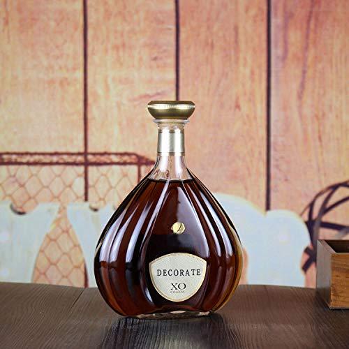 (SER ITYHTR Dekoration High-End Weinflasche-High-End XO Weinflasche Simulation Requisiten Wein Leere Flasche Bar European-Style Dekoration Simulation Gefälschte Weinflasche)