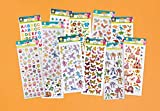Craft Planet Fun Stickers Autocollants'Anniversaire Glitzy'
