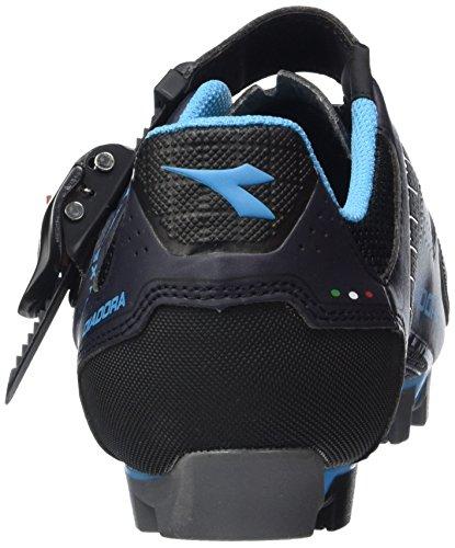 Diadora X Trivex Plus Ii, Chaussures de Vtt Mixte Adulte Schwarz (black/white6041)