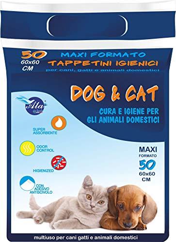 TAPPETINI IGENICI PER CANE E GATTO AIR CAT & DOG 60X60 300PZ