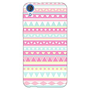 Jugaaduu Aztec Girly Tribal Back Cover Case For HTC Desire 820Q Dual Sim
