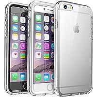 Custodia/ protezione per iPhone 6, SUPCASE Ares Full-body Rugged Clear Bumper Case Protezione robusta dell'intero corpo trasparente ad incastro con protezione integrata dello schermo per Apple iPhone 6 4.7