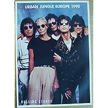 Poster Rolling Stones Tour 1990 Format 62 x 86 cm