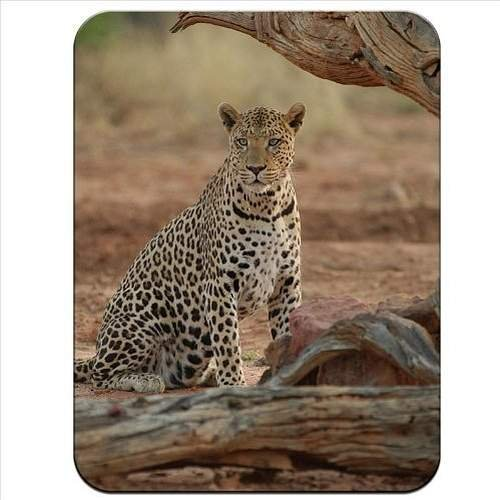 Leopard Finish (Leopard Premium Quality Thick Rubber Mouse Mat Pad Soft Comfort Feel Finish)