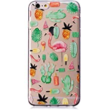 Happon iPhone 6 Plus iPhone 6s Plus Case, Phone Case Slim Rubber Bumper Unique Style Phone Case Slim Protector Anti-Scratch Shockproof Case Protective Cover - Pattern 4