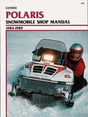 Clymer Polaris Snowmobile 1984-1989: Service, Repair, Maintenance (Clymer Manuals: Motorcycle Repair) 1st edition by Haynes Manuals, Inc. (1990) Paperback