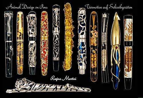 Animal Design on Pens - Tiermotive auf Schreibgeräten (Füllhalter Namiki)