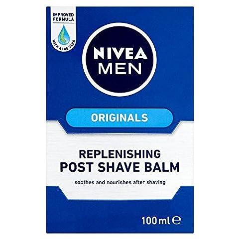 Nivea Men Skin Originals Replenishing Post Shave Balm (100ml) - Pack of 2