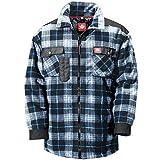 Canadian Line 1106-4XL-6838 Size 4X-Large Men's Fleece Shirt - Dark Blue/Blue
