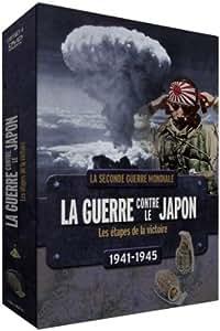 Coffret 4 DVD La guerre contre le Japon : les étapes de la victoire 1941-1945