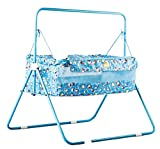 #9: Baybee Baby Mini Cozy Tot Cradle / Bassinet (Red) (Blue)