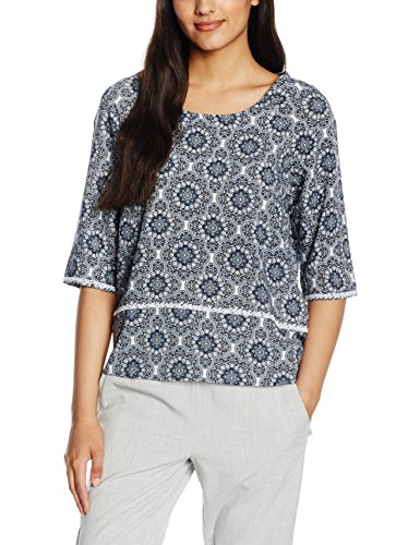 Broadway Fashion Damen Bluse Ember Blau (sailor blue 1602-598)