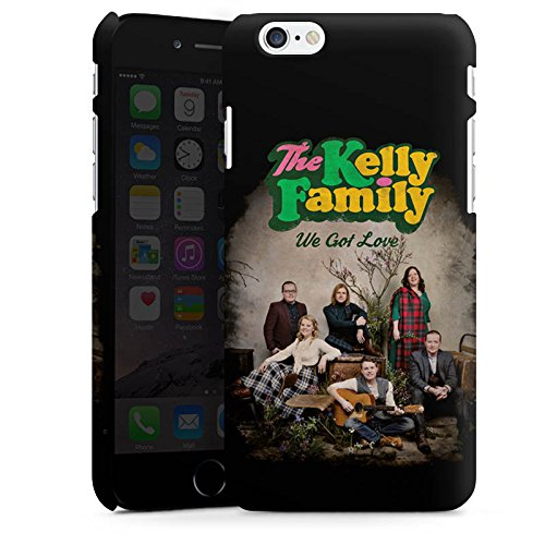 Apple iPhone 6 Plus Silikon Hülle Case Schutzhülle The Kelly Family We got Love Merchandise Premium Case matt