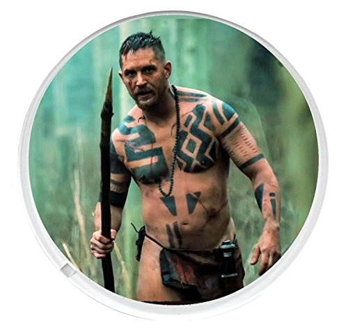 unique-round-drinks-coaster-with-a-picture-of-tom-hardy-from-the-bbc-series-taboo