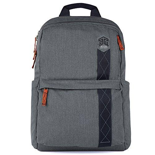 STM Banks Rucksack für Laptop & Tablet bis 38,1cm Tornado Grey Einheitsgröße
