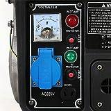 800W Benzin Stromerzeuger Generator Stromaggregat Stromgenerator Notstromaggregat WESTCRAFT WK-950W - 3