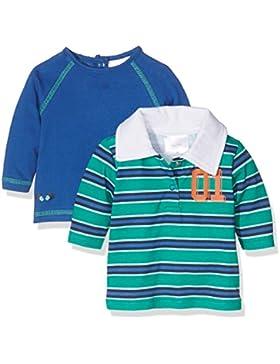 Twins Baby-Jungen Langarm T-Shirts im 2er Pack