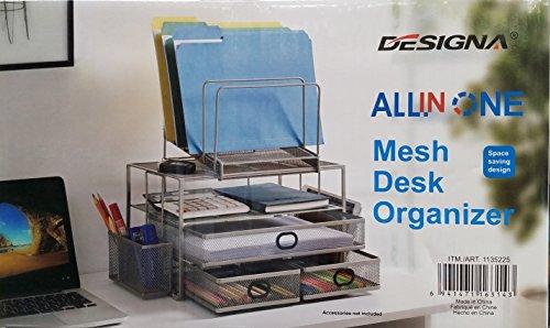 Designa All in One Mesh Schreibtisch Organizer -