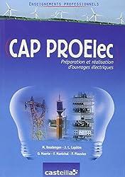 Enseignements professionnels CAP PROElec (Préparation et Réalisation d'ouvrages Electriques)