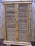 Bambusschrank Kleiderschrank Bambus Schrank Bambusmöbel Bambusbett Saigon