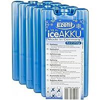 Ezetil High Performance 5er-Set Kühlakku, mit 5 x 220g Kühlelementen für die Kühltasche oder Kühlbox, türkis
