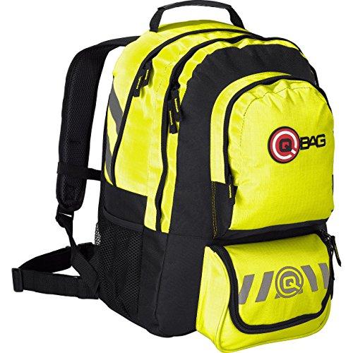 QBag Tourenrucksack groß für Damen & Herren in neon gelb