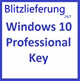 Windows 10 Professional 32/64 Bit VOLLVERSION Win Pro KEY Lizenz MULTILINGUAL