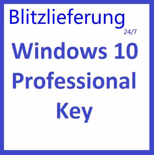 Produktbild Windows 10 Professional 32 / 64 Bit VOLLVERSION Win Pro KEY Lizenz MULTILINGUAL